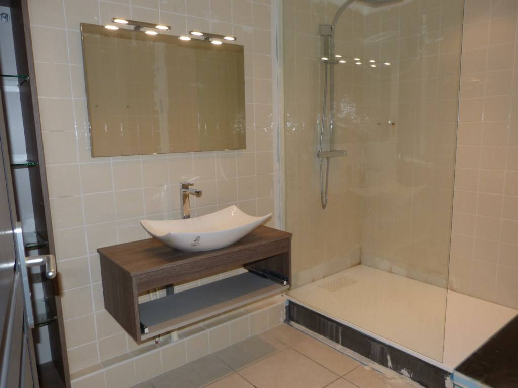 comment faire douche italienne sans receveur ?